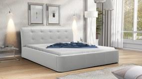 Manželská posteľ 200 cm Genova (s roštom)