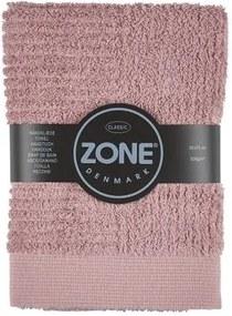 Ružový uterák Zone Classic, 50 × 70 cm