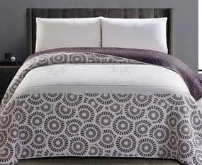 Prikrývka na posteľ My Deer Friend seda