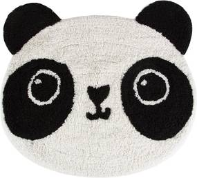 Bavlnený detský koberec Sass & Belle Kawaii Panda, 63 × 55 cm
