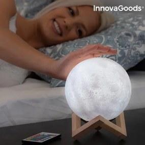 Stolná lampa mesiac 3D - 15cm