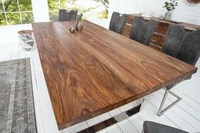 Luxusný jedálenský stôl Flame 200cm masív