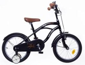 """Neuzer 16"""" Detský retro cruiser bicykel pre chlapcov čierna 2018"""