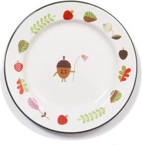 OMM Design Tanierik Enamel Plate Acorn