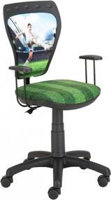 AL La Liga detská kancelárska stolička k písaciemu stolu