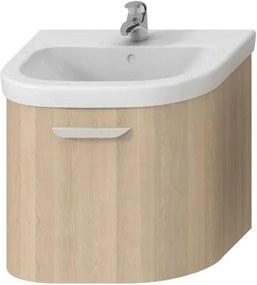 Kúpeľňová skrinka pod umývadlo Jika Deep 58x44x49,8 cm béžová H4541334343401