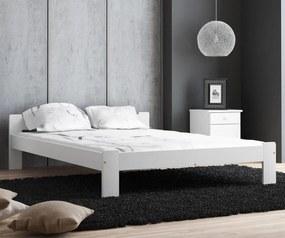AMI nábytok MAXI-DREW postel Anetka 140x200 masiv borovice bílá
