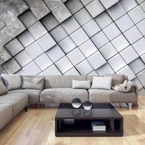 Fototapeta - Gray background 3D 250x175