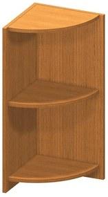 Rohová okrajová skrinka, čerešňa, TEMPO ASISTENT NEW 014