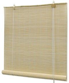 vidaXL Roleta, bambus 80x220 cm, prírodná farba
