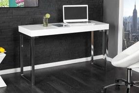 Písací stôl Desk 120x40cm biely