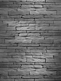 Umelý obkladový kameň KRX Lámaný F08mix šedý