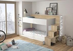 Patrová postel Teo & Tea bez šuplíku
