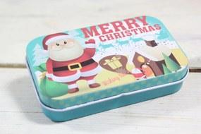"Plechová krabica ""MERRY CHRISTMAS"" (9,5x2,5x6 cm) 7."