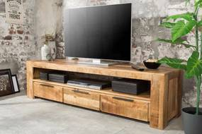 Dizajnový TV stolík Thunder 170 cm mango