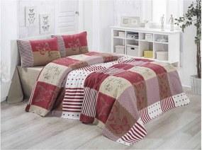 Ľahká prešívaná bavlnená prikrývka cez posteľ Victoria Butterfly, 140 × 200 cm