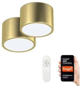 Immax Neo Immax Neo 07127L-BD - Sada 2x LED Stropné svietidlo RONDATE 2xLED/12W/230V + DO IM0695