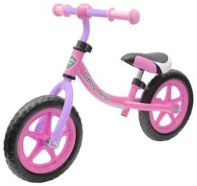 BABY MIX Nezaradené Detské odrážadlo bicykel Baby Mix TWIST ružovo-fialové Ružová |