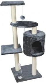 Škrabadlo pre mačky 110 cm Béžová