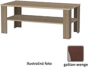 Konferenčný stolík, gaštan - wenge, INTERSYS NEW 22