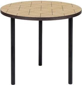 Okrúhly príručný stolík Woodman Arty Triangle 50
