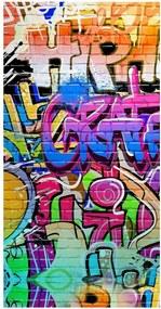 Plážová osuška s potlačou HIP Grafity, 150 × 75 cm