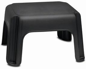 Čierna stolička Addis Step Stool Black