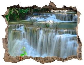 Nálepka fototapeta 3D výhled beton Vodopád nd-k-69146962