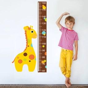 Housedecor Samolepka na stenu - meter a žirafa