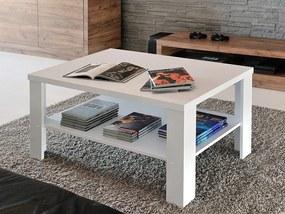 Mazzoni FALCO MINI 90x55 biely, konferenčný stolík