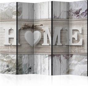 Paraván - Room divider – Inscription Home 225x172 7-10 dní