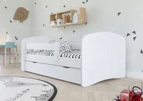 Detská posteľ Ourbaby Loki biela 140x70 cm