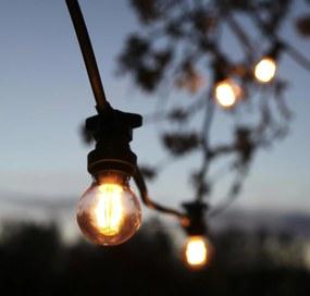 STAR TRADING Vonkajšia svetelná reťaz na 10 žiaroviek