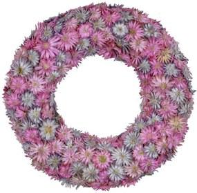 Ružový veniec zo sušených kvetov Ego Dekor, ⌀ 18,5 cm