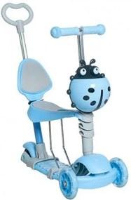 Kruzzel Detská kolobežka 5v1 Modrá