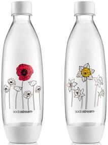SODASTREAM Fľaša FUSE 2 x 1l Kvety v zime 42003192