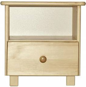 AMI nábytok noční stolek Katka S1 olše