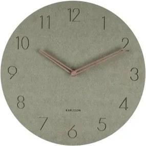 KARLSSON DURA hodiny Zelená