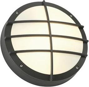 Stropné svietidlo SLV BULAN mřížkanástenná antracit 230V E27 2x25W 229085