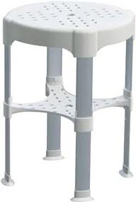 TRES - Nastavitelná koupelnová stolička Maximální nosnost 225 kg. (03463629