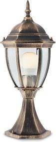 Vonkajšie retro a vintage svietidlo REDO SEVILLA bronzová 9606