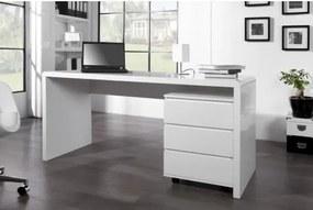 PC - stolík 36025 160x60cm Biely vysoký lesk-Komfort-nábytok
