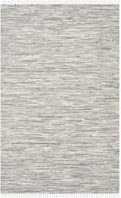 Bavlnený koberec v striebornej farbe Safavieh Cabrera, 121 × 182 cm