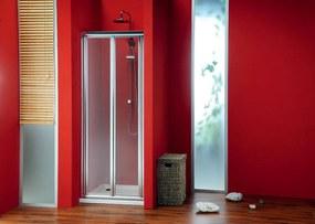 GELCO - SIGMA sprchové dvere skladacie 800mm, číre sklo (SG1828)