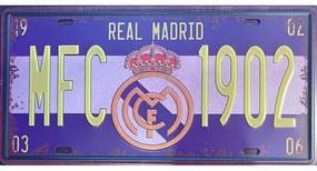 Ceduľa značka Real Madrid