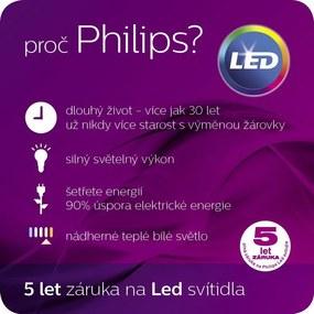 LED stropné svietidlo bodové Philips 3x4,3W