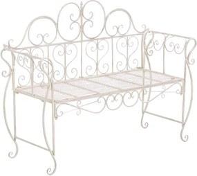 Záhradná lavička GS11173499 Farba Krémová antik
