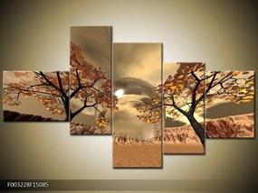 Päťdielny obraz