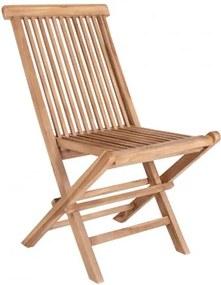 Zahradní židle TOLEDO HOUSE NORDIC bez područek, teak dřevo House Nordic 7001130