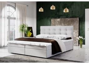 Moderná posteľ s úložným priestorom 160x200 STIG II - béžová